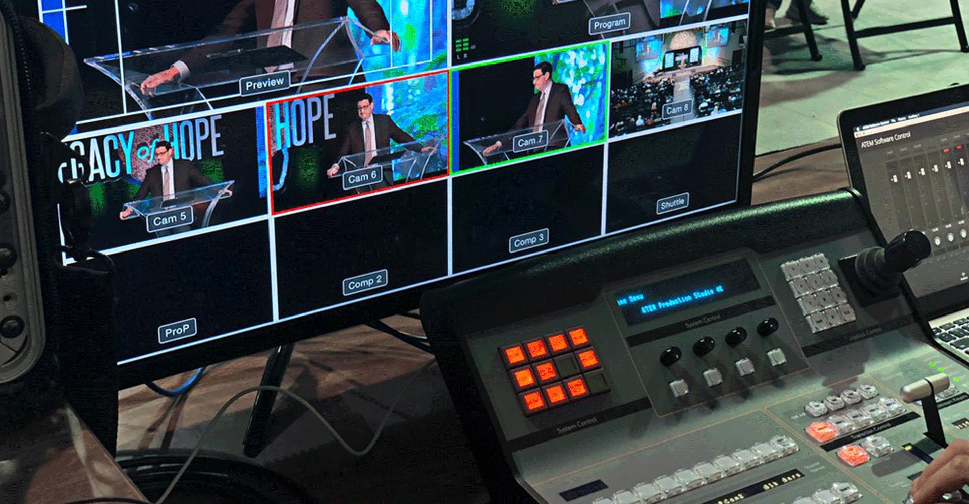 Live broadcast event video company in Doha Qatar 2